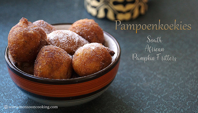 How to make african pumpkin fritters recipe